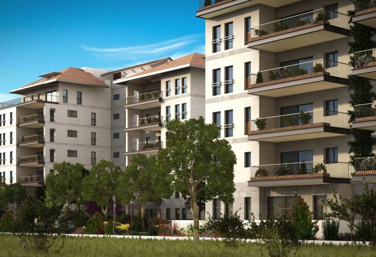 Raanana projet neuf select nadlan immobilier for Projet appartement neuf